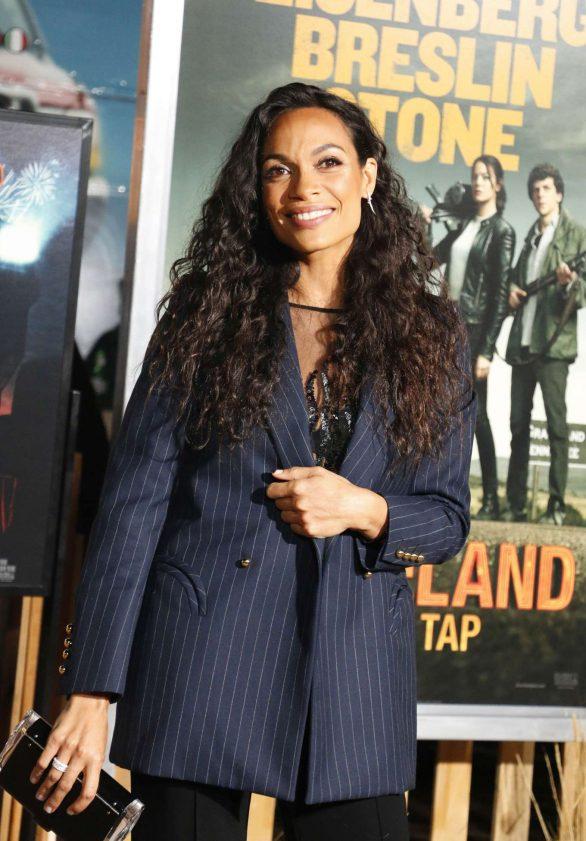 Rosario Dawson - 'Zombieland: Double Tap' Premiere in Westwood