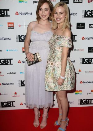 Rose and Rosie - British LGBT Awards 2017 in London