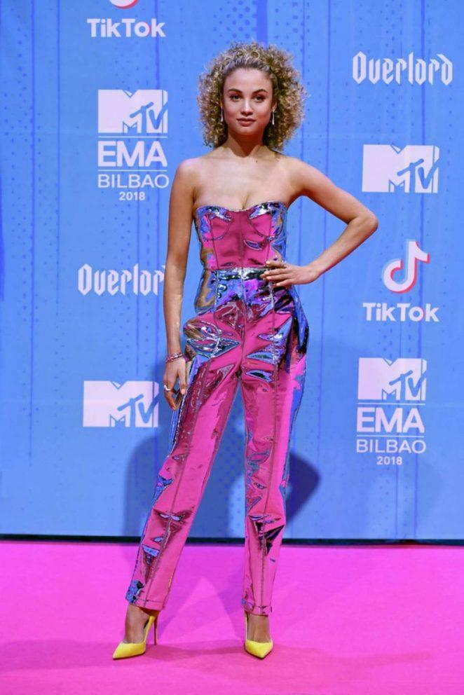 Rose Bertram - 2018 MTV Europe Music Awards in Bilbao