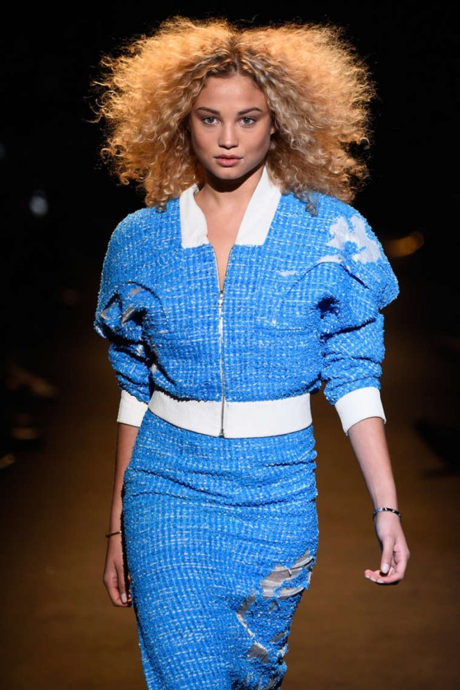 Rose Bertram - Naomi Campbell's Fashion For Relief Charity Fashion Show in NYC