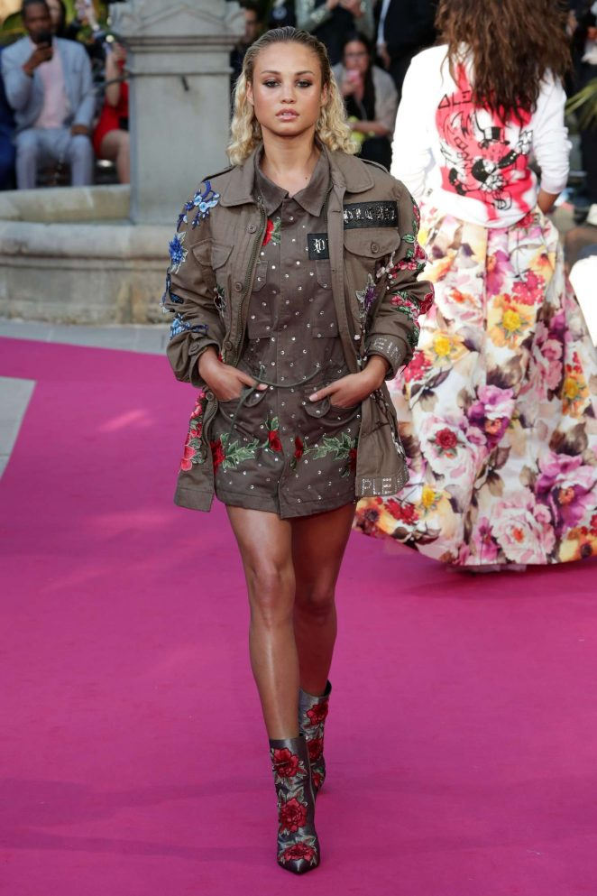 Rose Bertram - Philipp Plein Resort Collection in Cannes