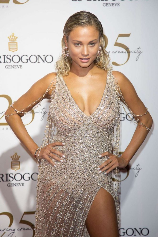 Rose Bertram – Photocall at Grisogono Party in Antibes