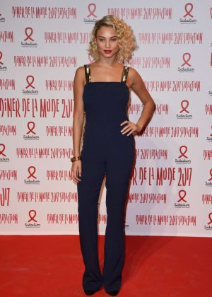 Rose Bertram - Sidaction Gala Dinner SS 2017 in Paris