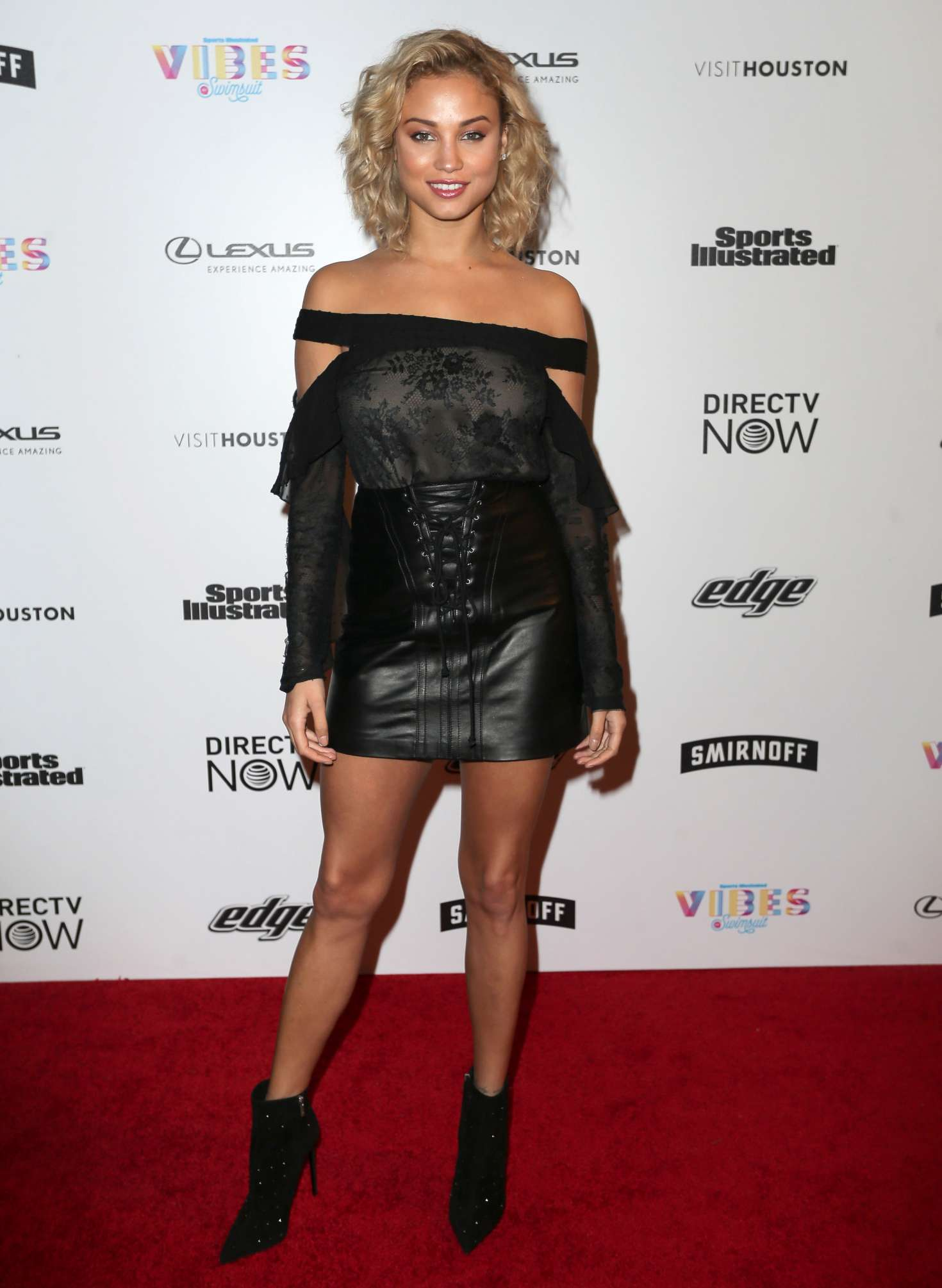 Rose Bertram - VIBES By Sports Illustrated Swimsuit 2017 Launch in Houston