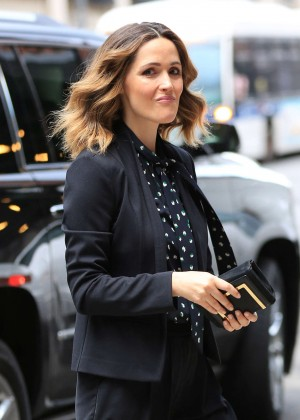 Rose Bryne out and about in NYC
