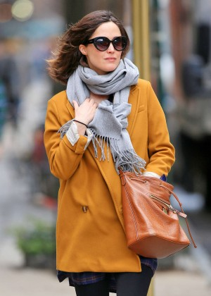 Rose Bryne out in NYC