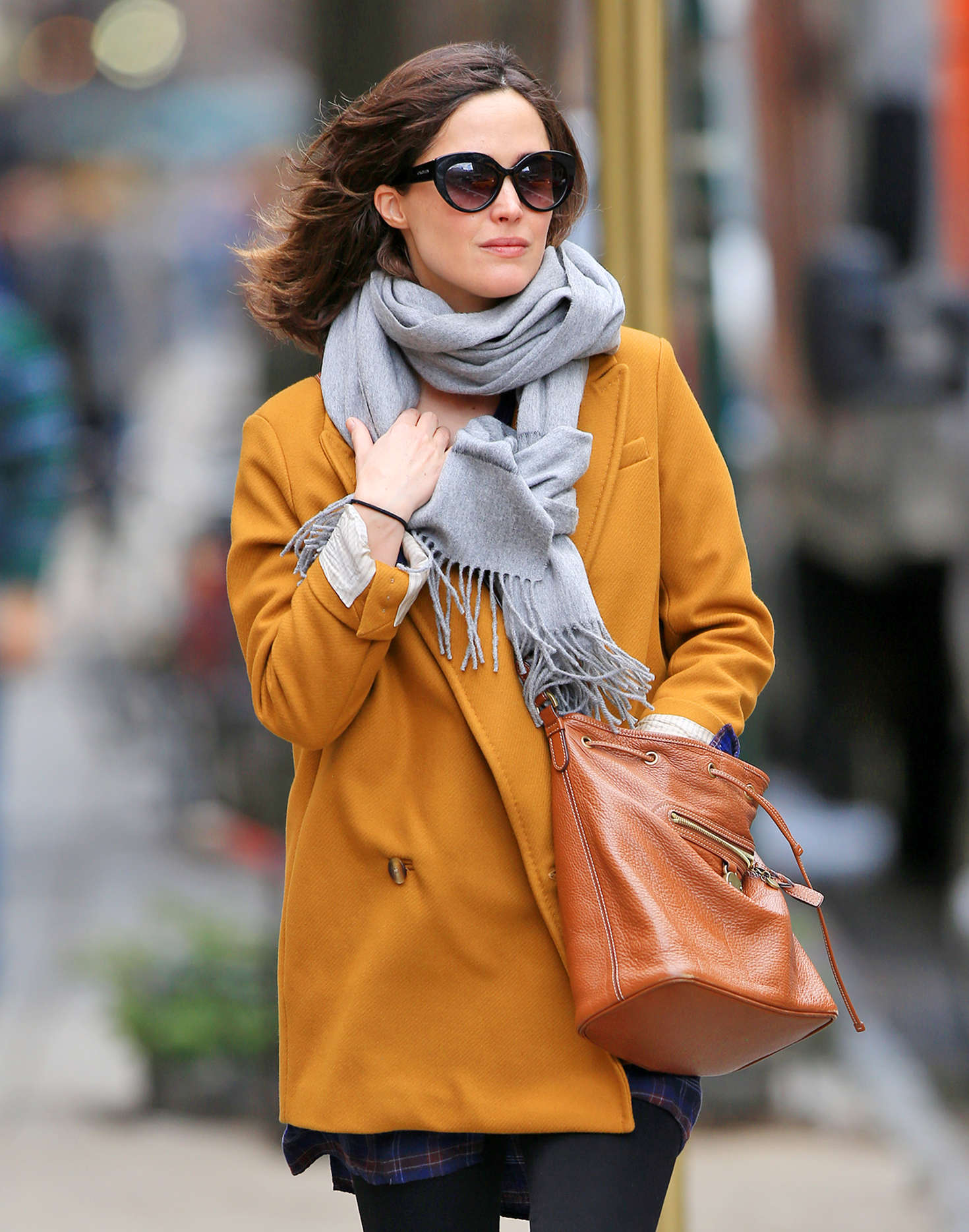 Rose Bryne 2016 : Rose Bryne out in NYC -01