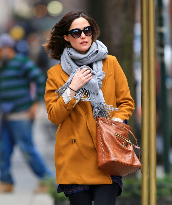 Rose Bryne out in NYC -02