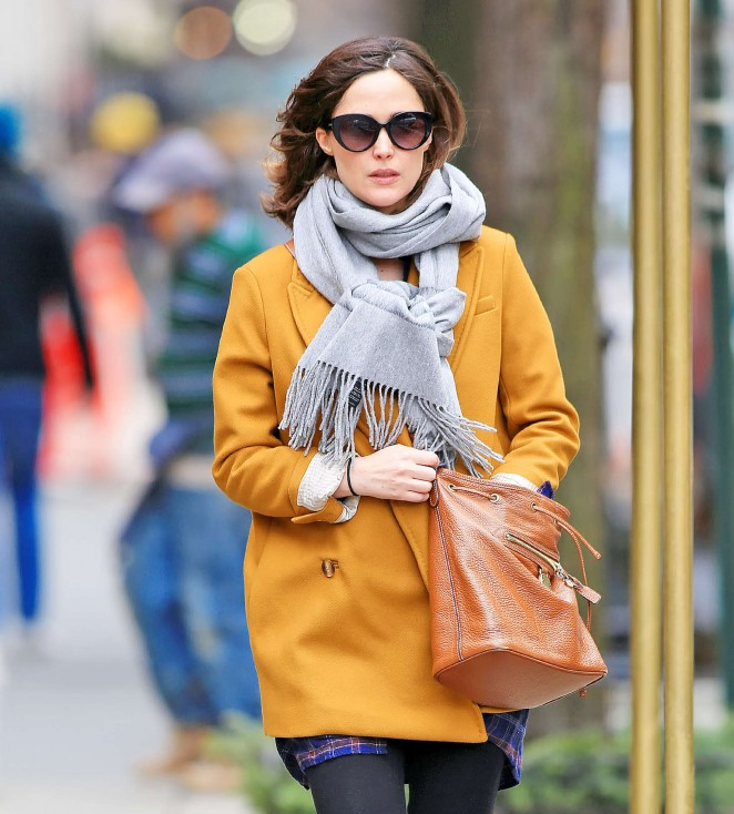 Rose Bryne out in NYC -03