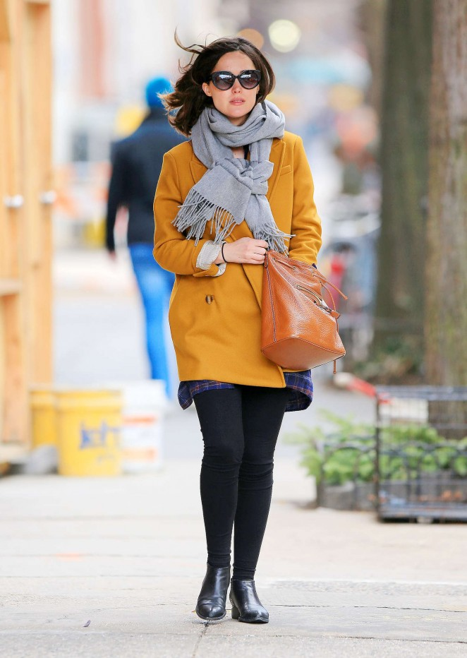 Rose Bryne out in NYC -10