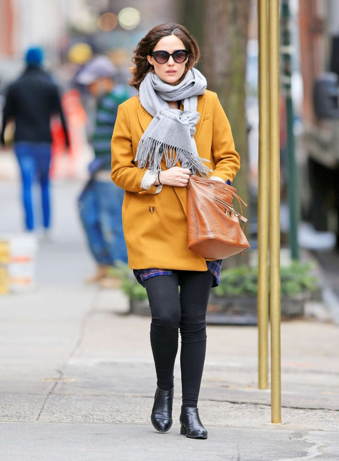 Rose Bryne out in NYC -12