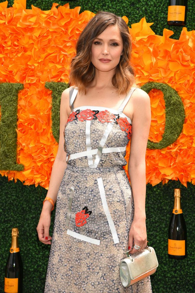 Rose Byrne - 2016 Veuve Clicquot Polo Classic in New Jersey
