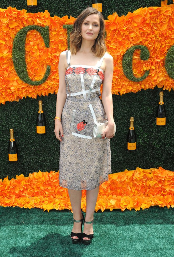 Rose Byrne: 2016 Veuve Clicquot Polo Classic -07