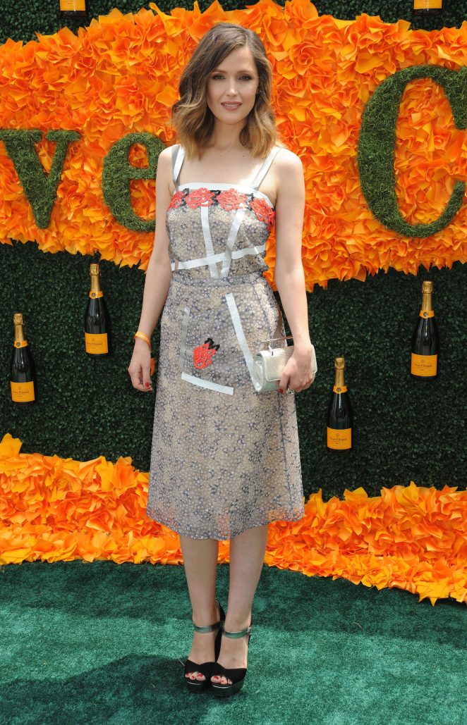 Rose Byrne: 2016 Veuve Clicquot Polo Classic -09