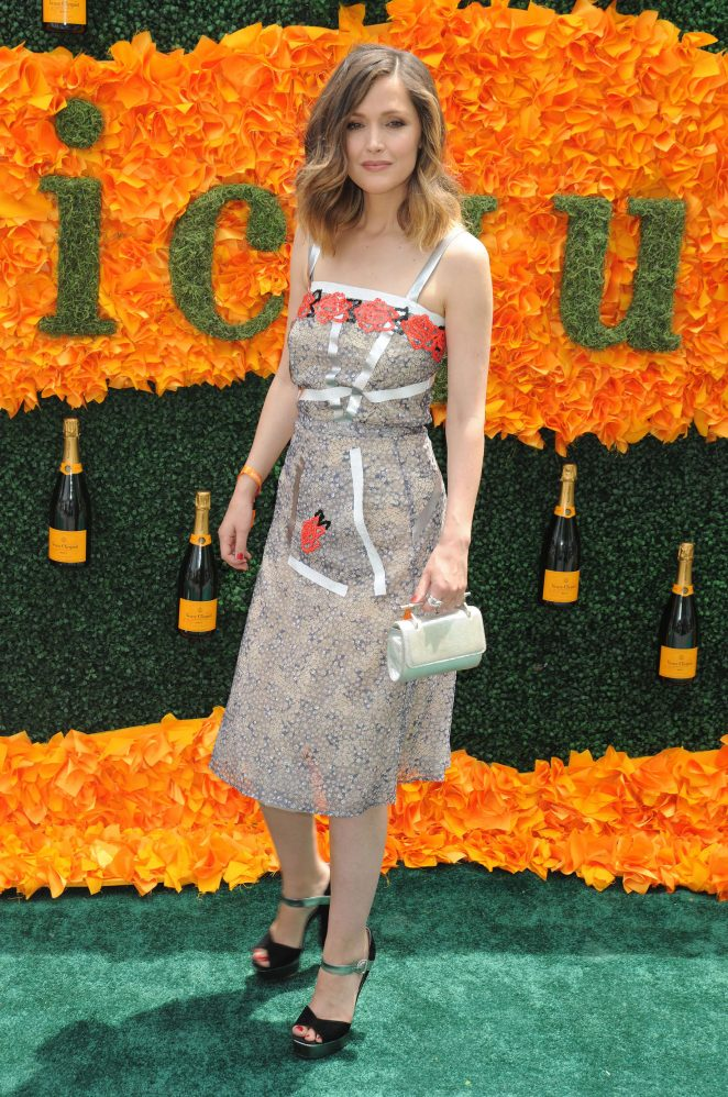 Rose Byrne: 2016 Veuve Clicquot Polo Classic -13