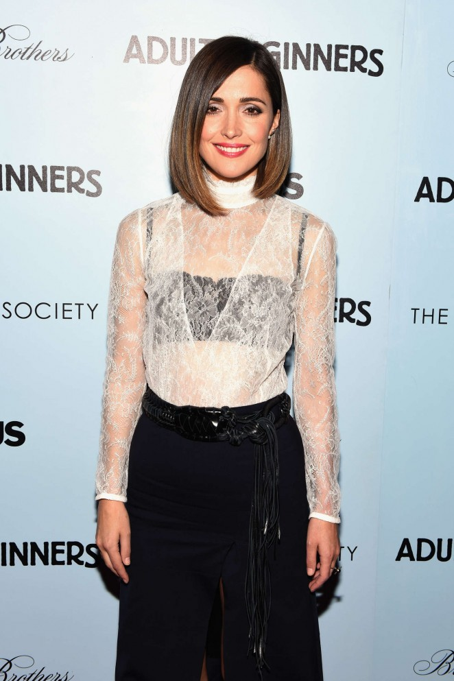 Rose Byrne – 'Adult Beginners' Premiere in NY