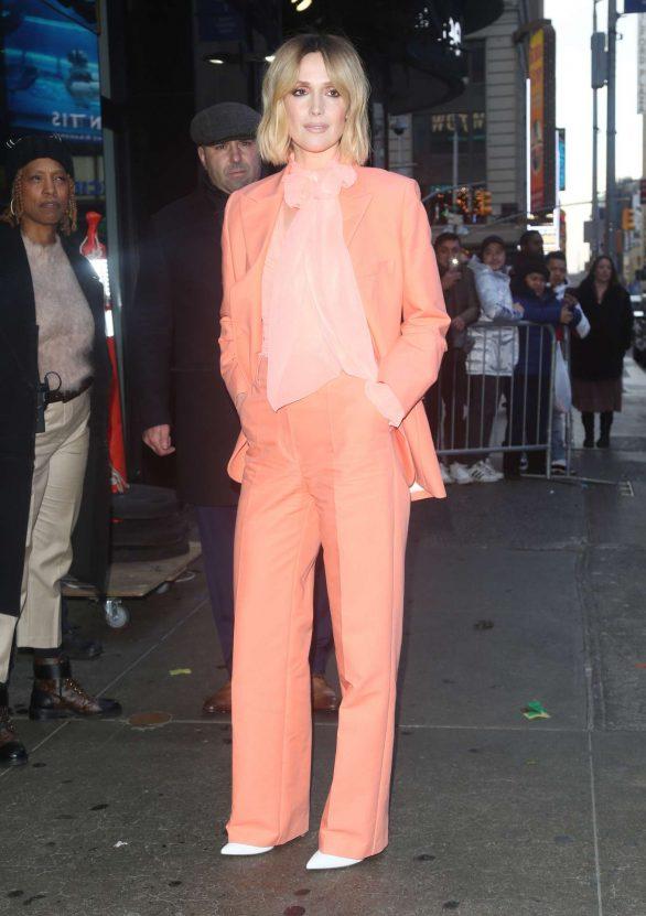 Rose Byrne - Arriving at 'Good Morning America' in New York