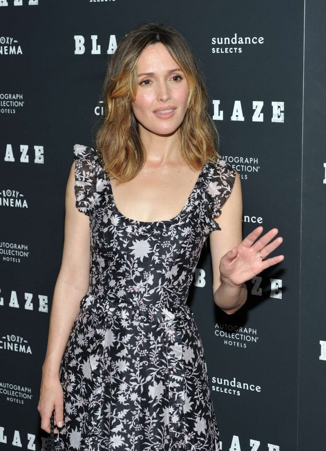 Rose Byrne - 'Blaze' Screening in New York