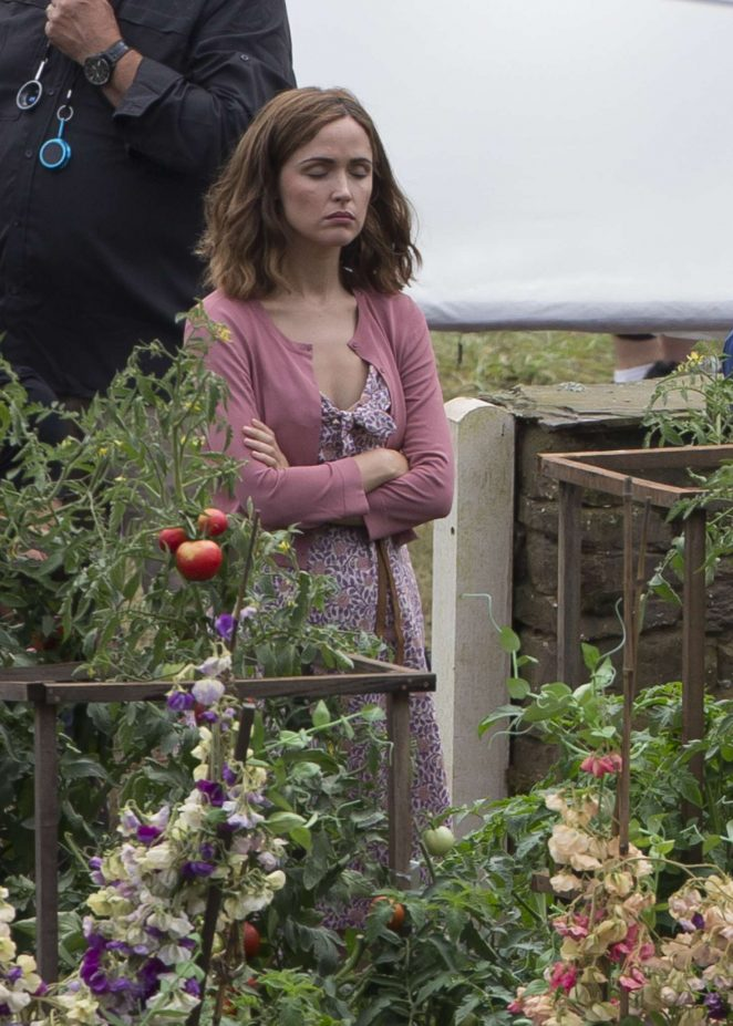 Rose Byrne - Filming 'Peter Rabbit' in Sydney
