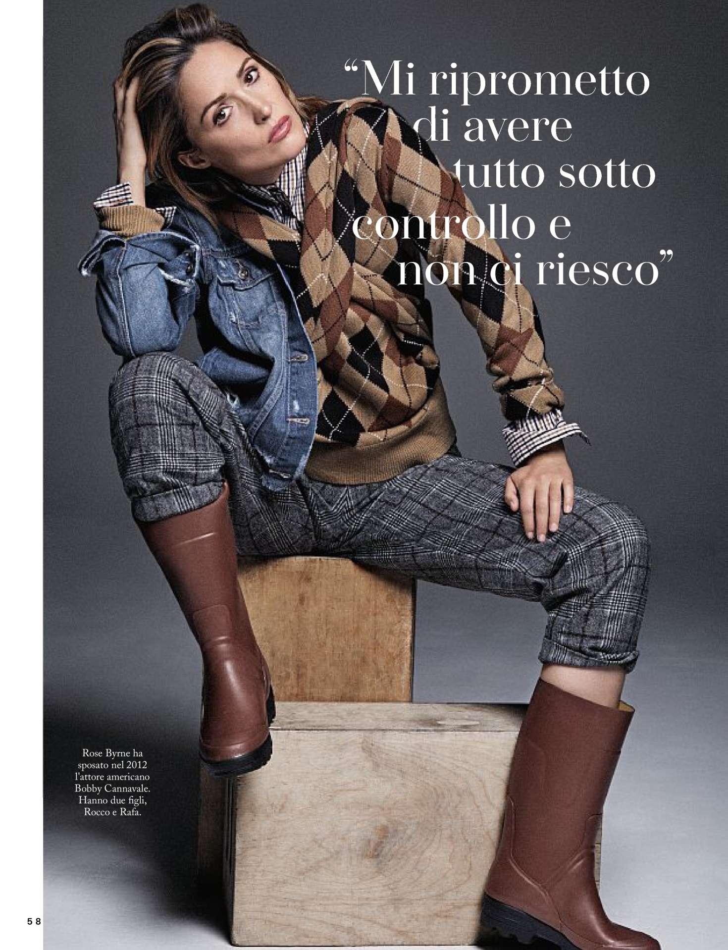 Rose Byrne – Io Donna del Corriere della Sera (February 2019)