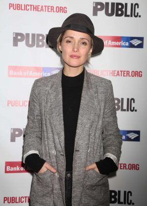 Rose Byrne - 'Mother of the Maid' Opening Night in NY