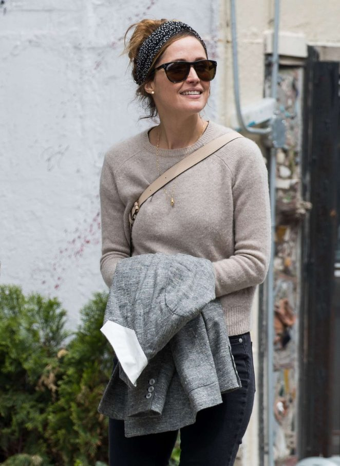 Rose Byrne out in New York City