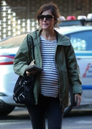 Rose Byrne out in NYC