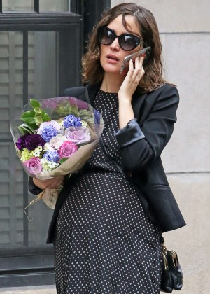 Rose Byrne - out in NYC