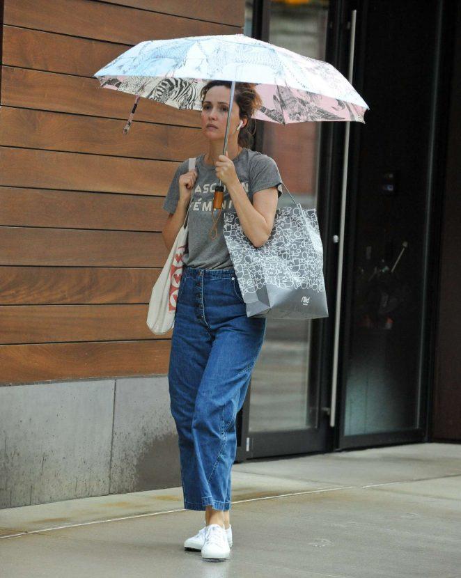 Rose Byrne – Out in SoHo