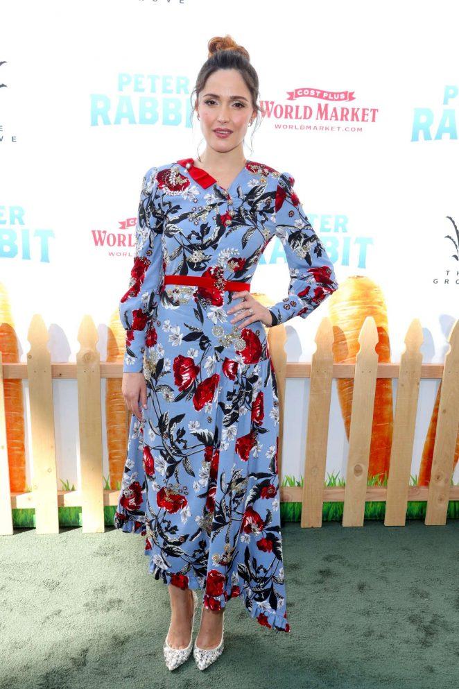 Rose Byrne - 'Peter Rabbit' Premiere in LA