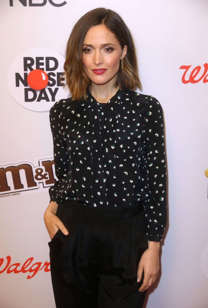 Rose Byrne - Red Nose Day Charity Event in NYC