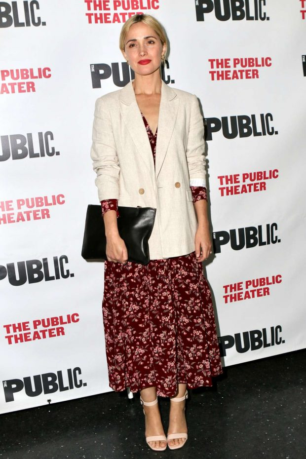 Rose Byrne - 'Socrates' Off Broadway Opening Night in New York