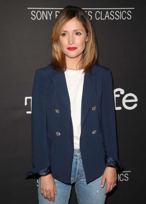 Rose Byrne - 'The Wife' Premiere in Los Angeles