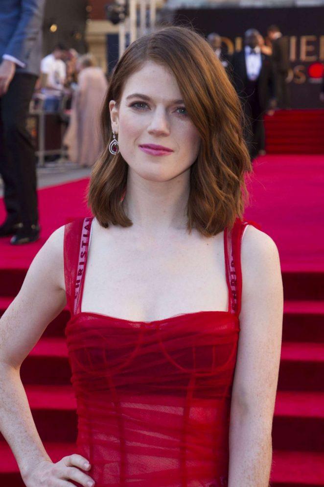 Rose Leslie - 2017 Olivier Awards in London
