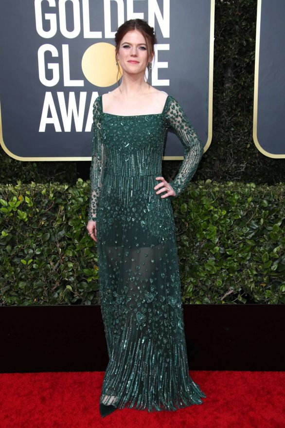 Rose Leslie - 2020 Golden Globe Awards in Beverly Hills