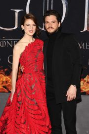 Rose Leslie and Kit Harington - 'Game of Thrones' Season 8 Premiere in New York