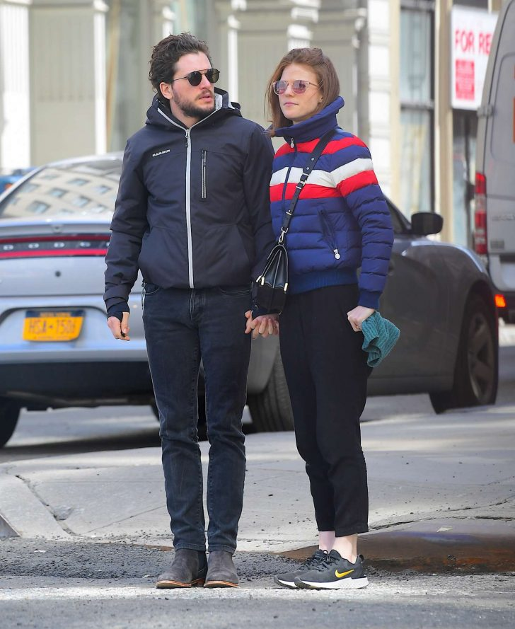 Rose Leslie and Kit Harington - Out and about in NYC