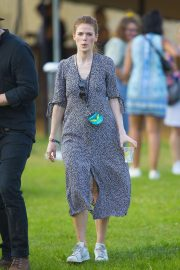Rose Leslie at All Points East Music Festival in London