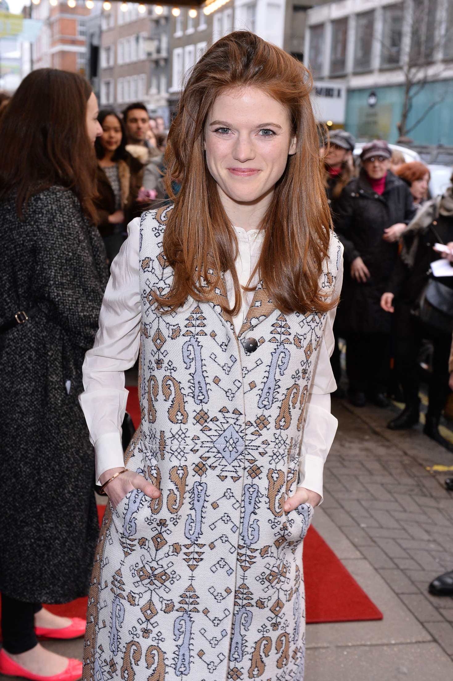 Rose Leslie 2016 : Rose Leslie at Doctor Faustus Gala Night -01