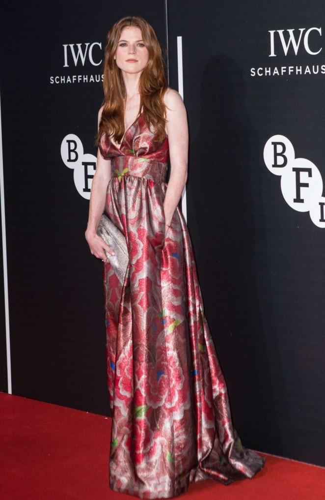 Rose Leslie - BFI Luminous Fundraising Gala in London