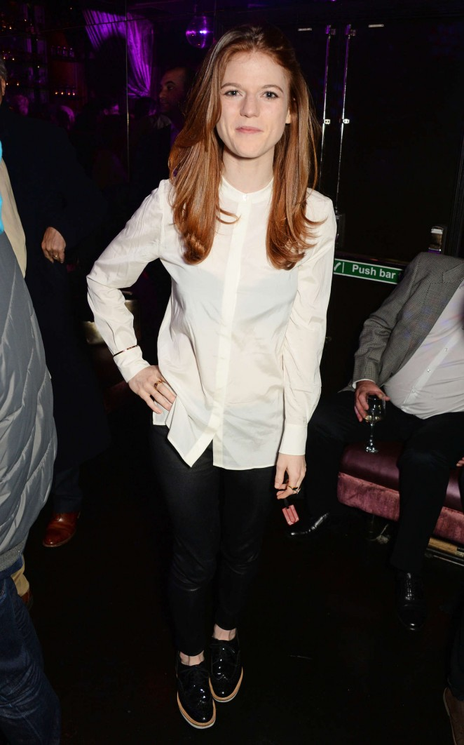 Rose Leslie - 'Doctor Faustus' Opening Night Afterparty in London