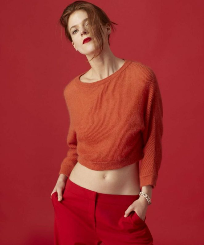 Rose Leslie - Dujour Magazine (February 2017)