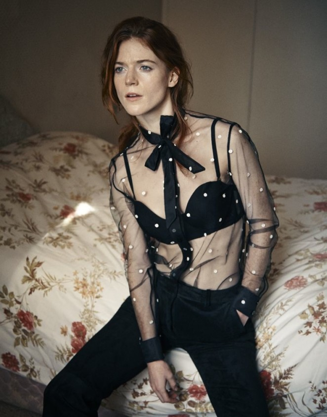Rose Leslie - Interview Magazine (October 2015)