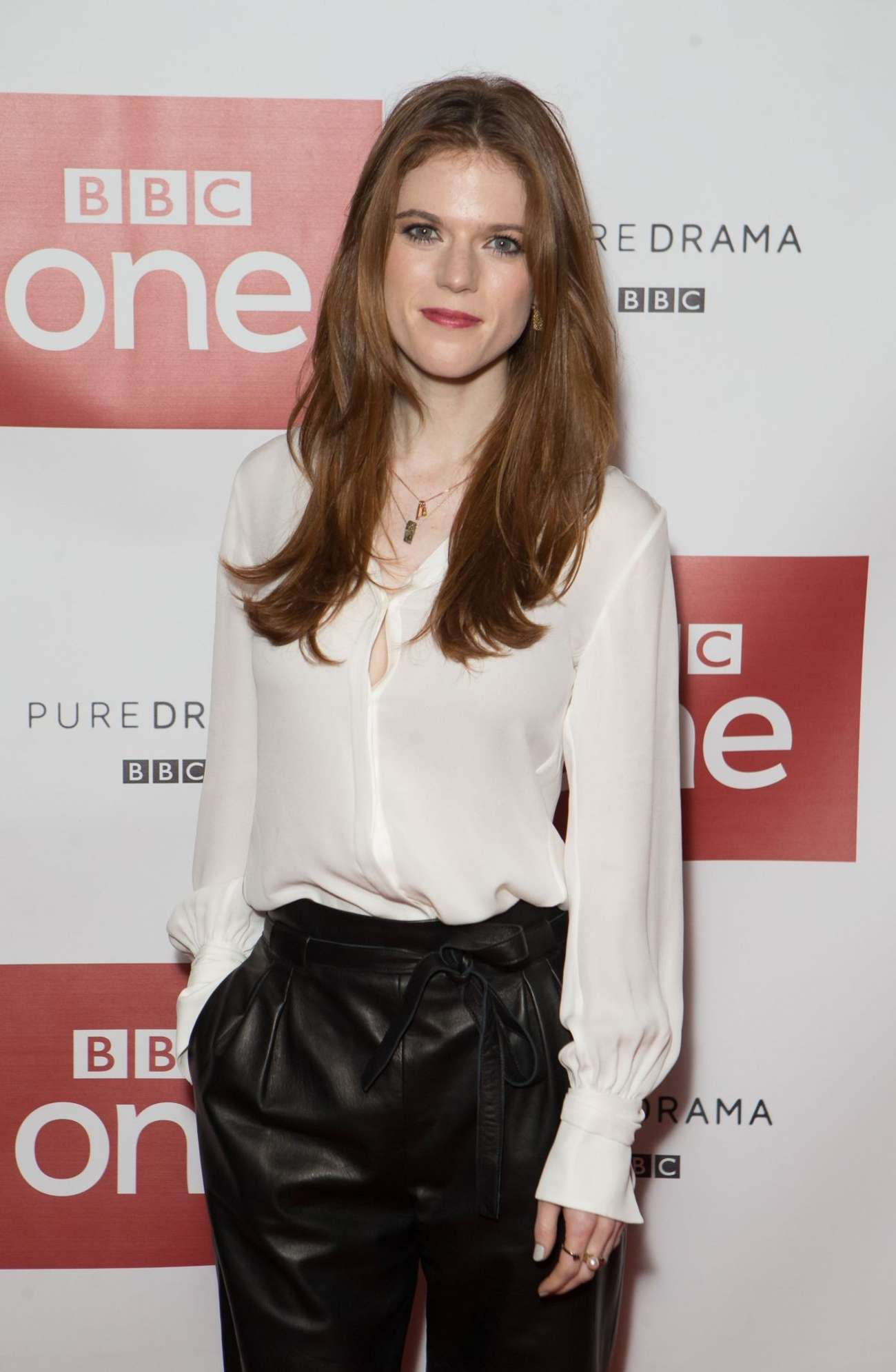 Rose Leslie - Luther Photocall at Picturehouse Central in London