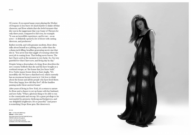 Rose Leslie 2020 : Rose Leslie – Make Magazine Issue 14 (Autumn 2020)-01