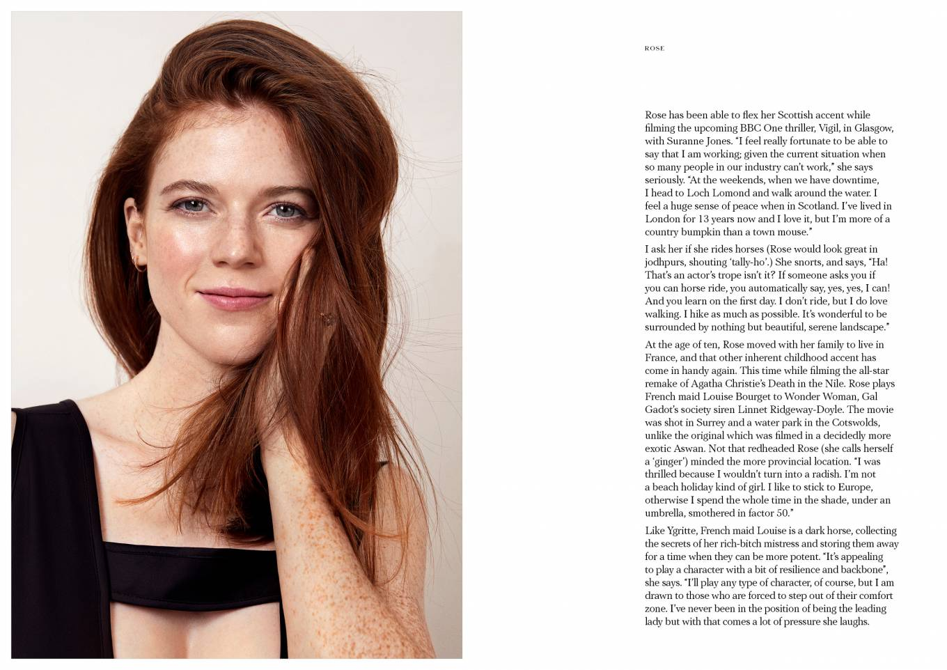 Rose Leslie 2020 : Rose Leslie – Make Magazine Issue 14 (Autumn 2020)-02