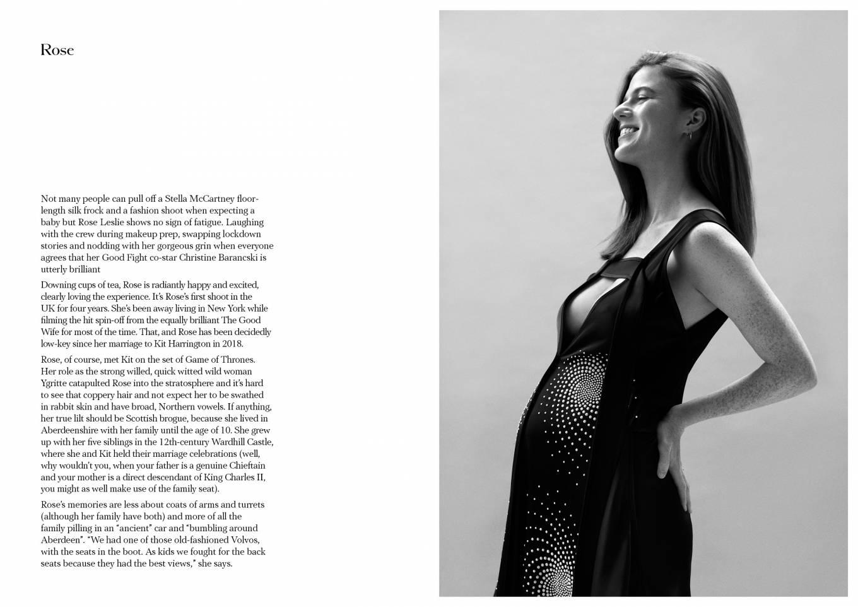 Rose Leslie 2020 : Rose Leslie – Make Magazine Issue 14 (Autumn 2020)-08