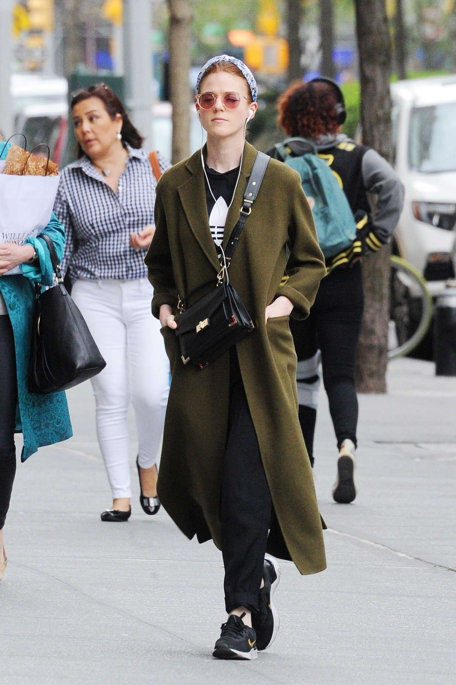 Rose Leslie - Out in New York City