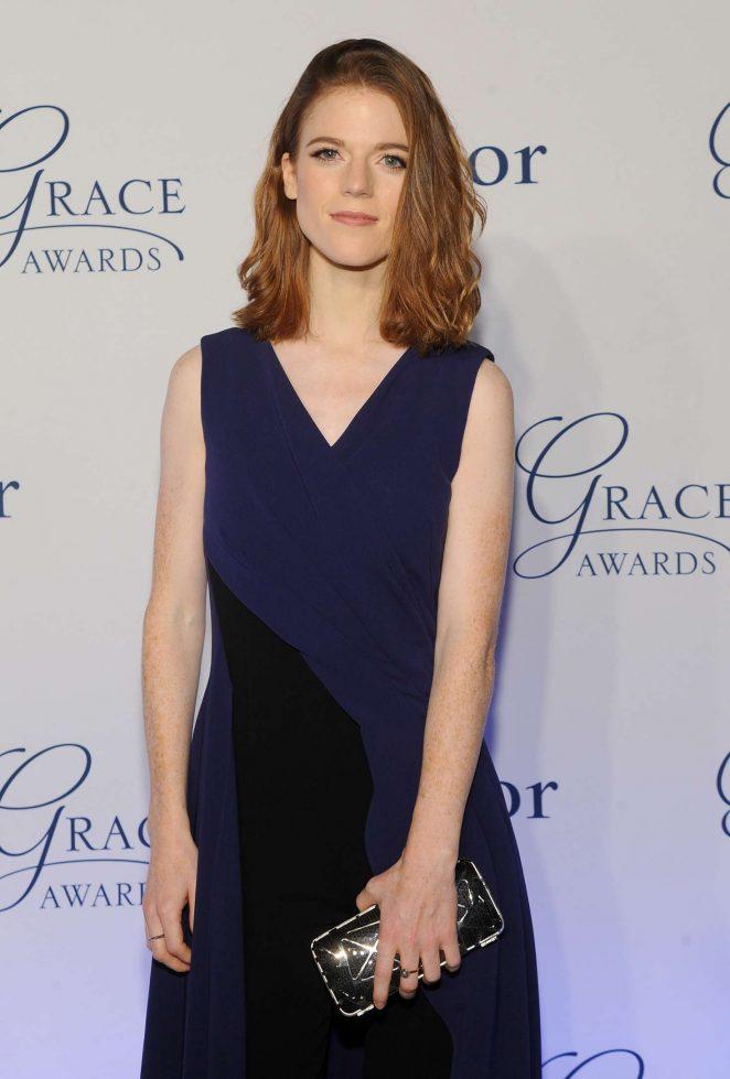 Rose Leslie - Princess Grace Awards 2016 in New York