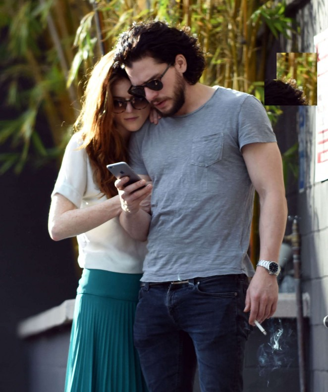 Rose Leslie Shopping in Los Angeles -06